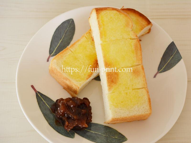 お家でコメダの小倉トーストを作ってみよう