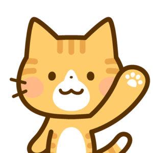 アイコン猫笑顔